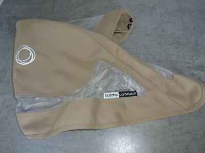 BUGABOO Cameleon canvas Breezy HOOD/ Canopy Fabric for Seat Unit Cover Beige