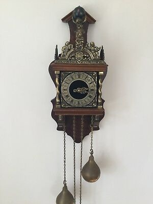 Antique Pendulum Wall Clock. German Movement.