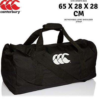 Canterbury 51L Packaway Bag Gym Sports Duffle Duffel Travel - Black