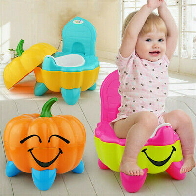 Baby Child Toddler Potty Training Seat Baby Kids Toilet Urinal Trainer Chair UK