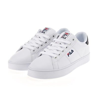 3d4d383725c4 NEW FILA COURT Deluxe Unisex Sneakers Shoes - White Navy(FS1SIA1011X ...