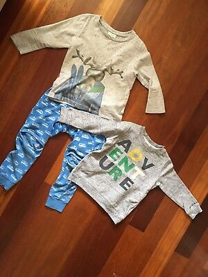 Boys Seed Tracksuit And Tops Size 2-3