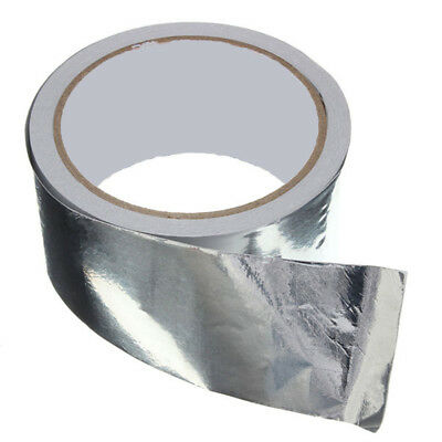 Aluminium Foil Tape 50m Big Roll Self Adhesive Insulation Reflective Duct