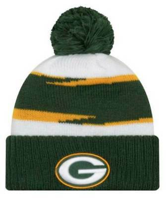 best cheap 9e0a5 80176 New Era 2018 NFL Green Bay Packers Thanksgiving Stocking Knit Hat Beanie  Winter