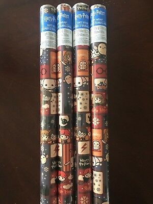 HARRY POTTER Holiday Gift Wrap