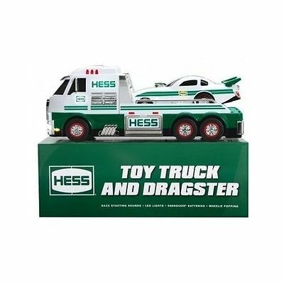 NEW 2016 Hess Toy Truck Dragster Car-BRAND NEW(add this one to the 2018!) 1/2off