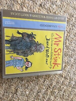 Mr Stink by Walliams, David CD-Audio Book & Cat In The Hat Audio Book