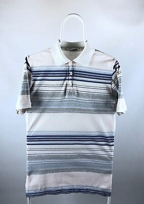 Polo T Shirt Yves saint laurent Vintage YSL Size S Small Striped
