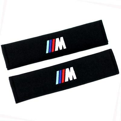 2X Styling Car Safety Seat Belt Shoulder Pad Strap Cushion Cover for BMW M 5 6 3