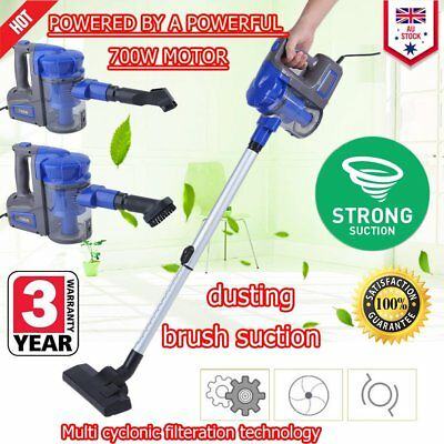 3 in 1 Handheld Vacuum Cleaner Upright Stick Lightweight Bagless Corded Vac W2W