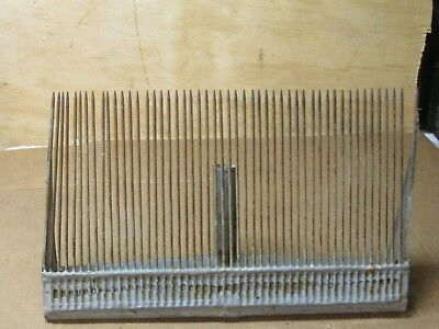 Lg Antique Vintage Blueberry Cranberry Rake Scoop  10 X 16