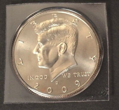2009 D Kennedy Half Dollar Satin Finish In Mint Packaging VERY LOW MINTAGE