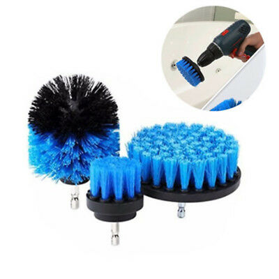 3 Pcs/Set Tile Grout Power Scrubber Cleaning Drill Brush Tub Cleaner Combo Tools