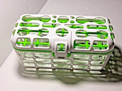 Munchkin Dishwasher Basket green and white excellent condition