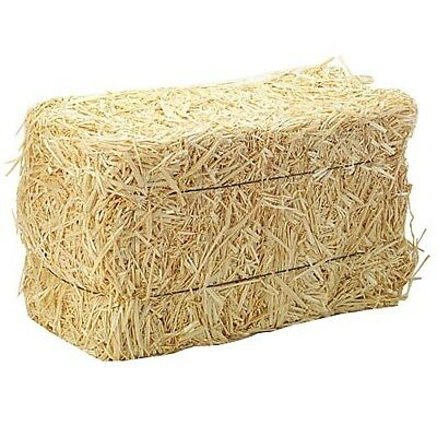 Miniature Hay Bale Fall Decor Natural Hay Autumn Craft Garden Supply
