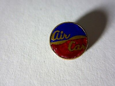 old vintage Antique ADVERTISING - Prototype Car - AIR CAR - PIN ENAMEL AND BRASS