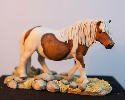 "native pony resin model by Teviotdale - approx 7 1/2"" x 5"""