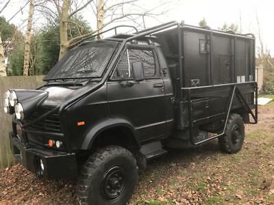 Superb One Off Ex Military Beast Reynolds Boughton Rb 44 4X4 Communications Back