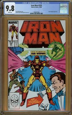 Iron Man #235 CGC 9.8 Grey Gargoyle   #1996207006