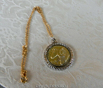 American Indian Relief Council in 2012 necklace