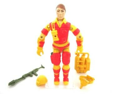 Action Force GI Joe Cobra ☆ BLOWTORCH ☆ Figure Rare Hasbro Vintage 100% MINT 84