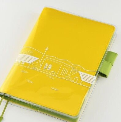 Hobonichi Techo cover on cover for cousin A5 (Nostalgic scenery) F/S