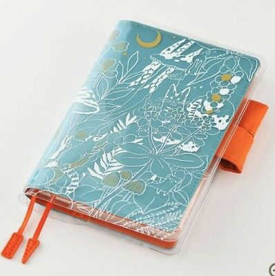 Hobonichi Techo cover on cover for A6 original Hide and seek in the evening