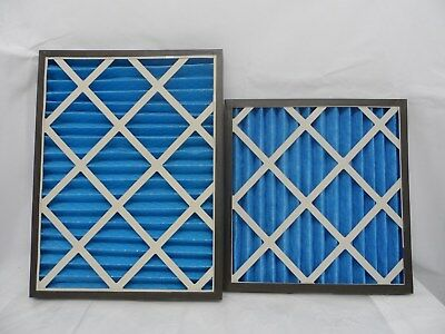 9 x GVS G4 Pleated Panel Filters Two Sizes 18-20 New Condition HVAC Filtering