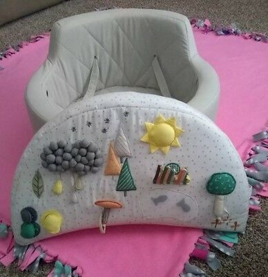Land Of Nod Crate & Barrel Kids Busy Baby Activity Chair Play Seat