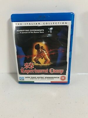 The Italian Collection SS Experiment Camp Blu Ray