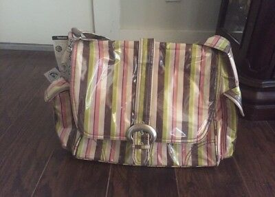 kalencom laminated diaper bag