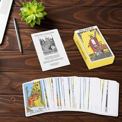 78Pcs Set Smith / Rider Waite Tarot Card Cards Deck Cards 10.3*6cm
