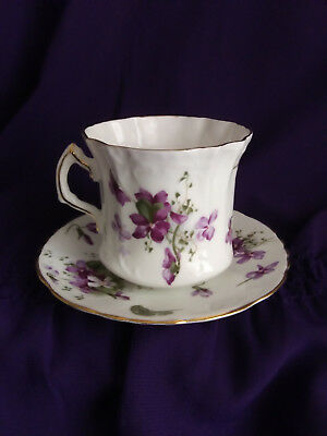 Collectible Vintage Hammersley Bone China Tea Cup And Saucer Set, England.