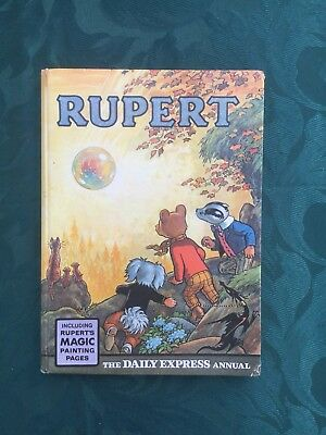 RUPERT ANNUAL 1968, unclipped, Magic Paintings Virtually Untouched.