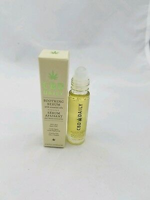 CBD Daily Roll on Soothing Serum .34oz 10ml w/ essential oils by Earthly Body