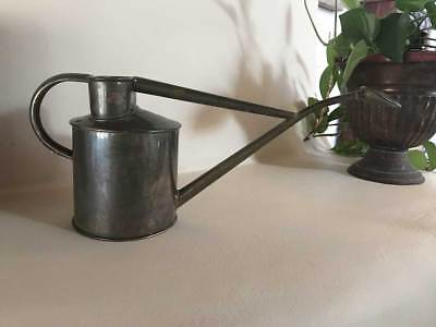 """Vtg Haws Metal Copper? Brass? Indoor Watering Can Approx. 6.5"""" Tall ENGLAND"""