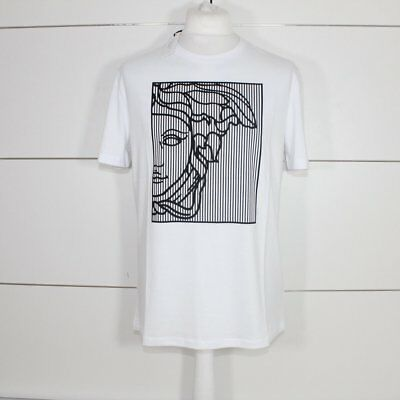 a819ddde7 VERSACE COLLECTION WHITE Square Medusa T-Shirt - $94.28 | PicClick