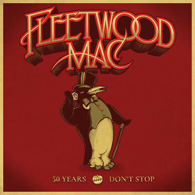 50 Years - Don't Stop - 3 DISC SET - Fleetwood Mac (2018, CD NUOVO)