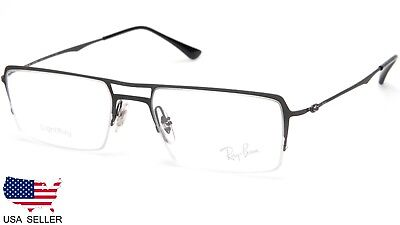 5ba4cf98c NEW Ray Ban RB8713 1128 DARK GREY LIGHTRAY EYEGLASSES FRAME 53-17-140 B31