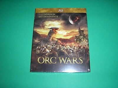 "BLU-RAY,neuf emballé,""ORC WARS"",l'invasion est imminente"