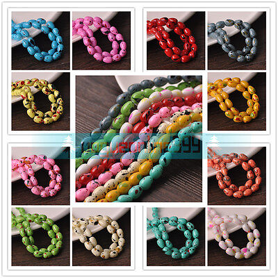Wholesale 8mm 10mm Colorful Teardrop Charm Loose Glass Beads Jewelry Findings