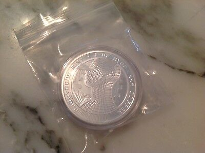 BITCOINS Silver plate Commemorative Bitcoin .999 Fine Copper Physical Bitcoin