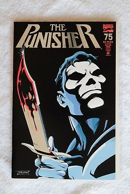 The Punisher #75 (Feb 1993, Marvel) Silver Foil Embossed Cover