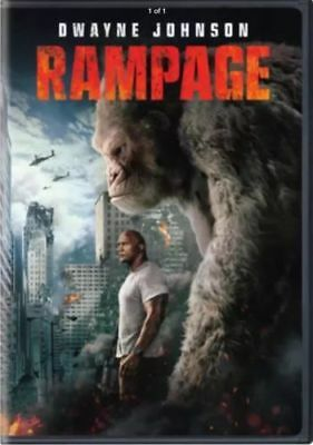 Rampage (DVD, 2018) Brand New! Free Shipping to the US