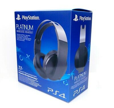 Casque Sans Fil Gaming Gamer Gold Sony Ps4 Officiel 2 Micros Surround 7.1 - Neuf