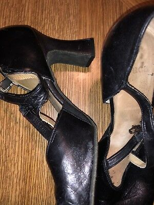 "LaDuca Dance Shoes, Alexis 3"" heel, Black Size 37.5, Pre-Owned"