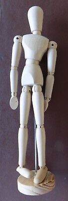 Wooden Artist Posable Unisex Mankin Mannequin Figure Drawing Model Jointed