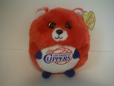 "Ty Beanie Ballz Collection Beanie Babies~Los Angeles Clippers~5""~2012~Free S/h"