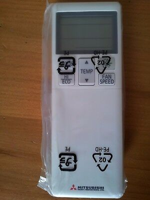 Mitsubishi Air Conditioning Infra red Remote control RLA502A700L Hand held