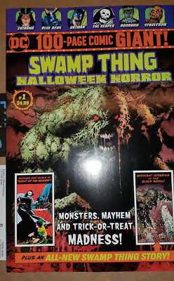 Dc 100 Page Giant Swamp Thing 1 Halloween Horror Walmart Exclusive! Sold Out!